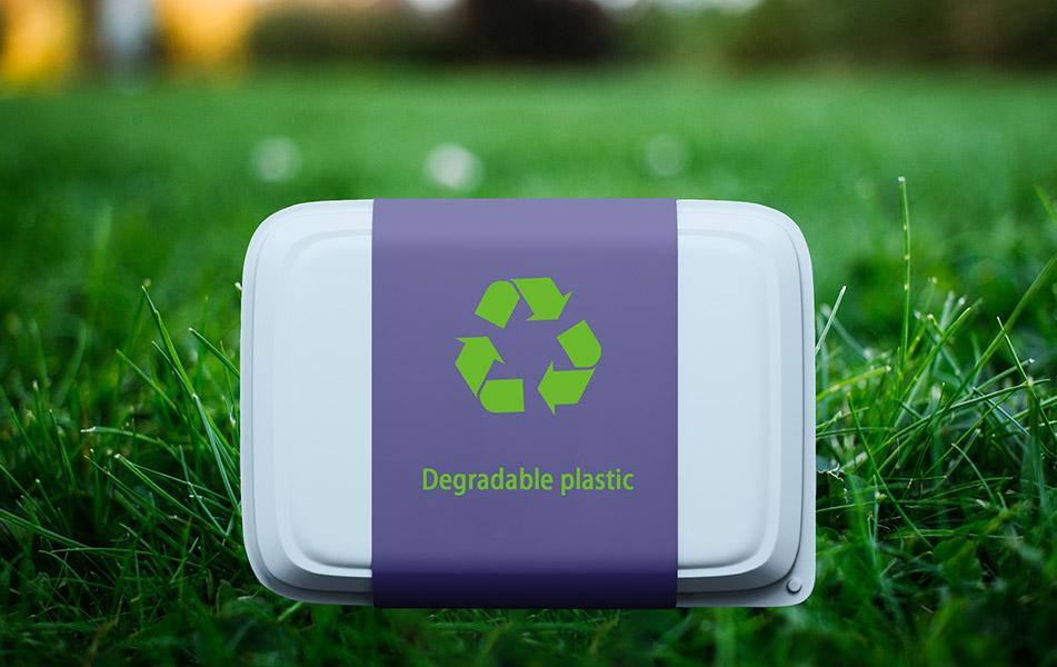 Plástico degradable