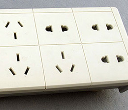 Extension Socket Shell——Flame Retardant PP product